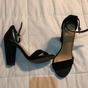 Black express heel